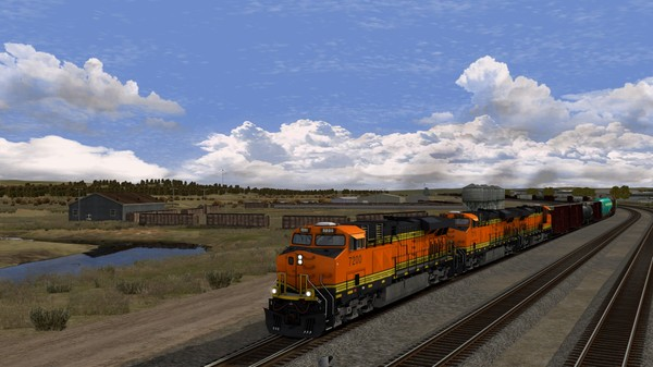 скриншот Train Simulator: Montana Hi-Line: Shelby - Havre Route Add-On 2