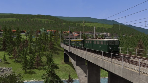 скриншот Train Simulator: RhB Enhancement Pack 05 Add-On 1