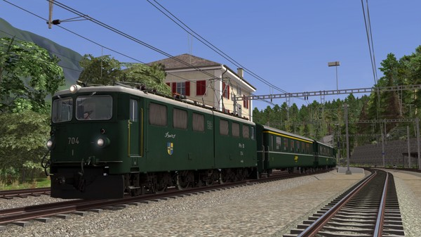 скриншот Train Simulator: RhB Enhancement Pack 05 Add-On 0