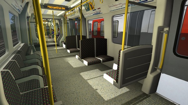 скриншот Train Simulator: London Underground S8 EMU Add-On 4