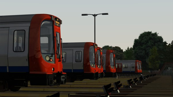 скриншот Train Simulator: London Underground S8 EMU Add-On 1