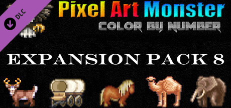 Pixel Art Monster - Expansion Pack 8