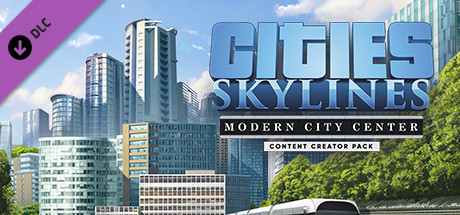 Cities: Skylines – Content Creator Pack: Modern City Center [PT-BR] Capa