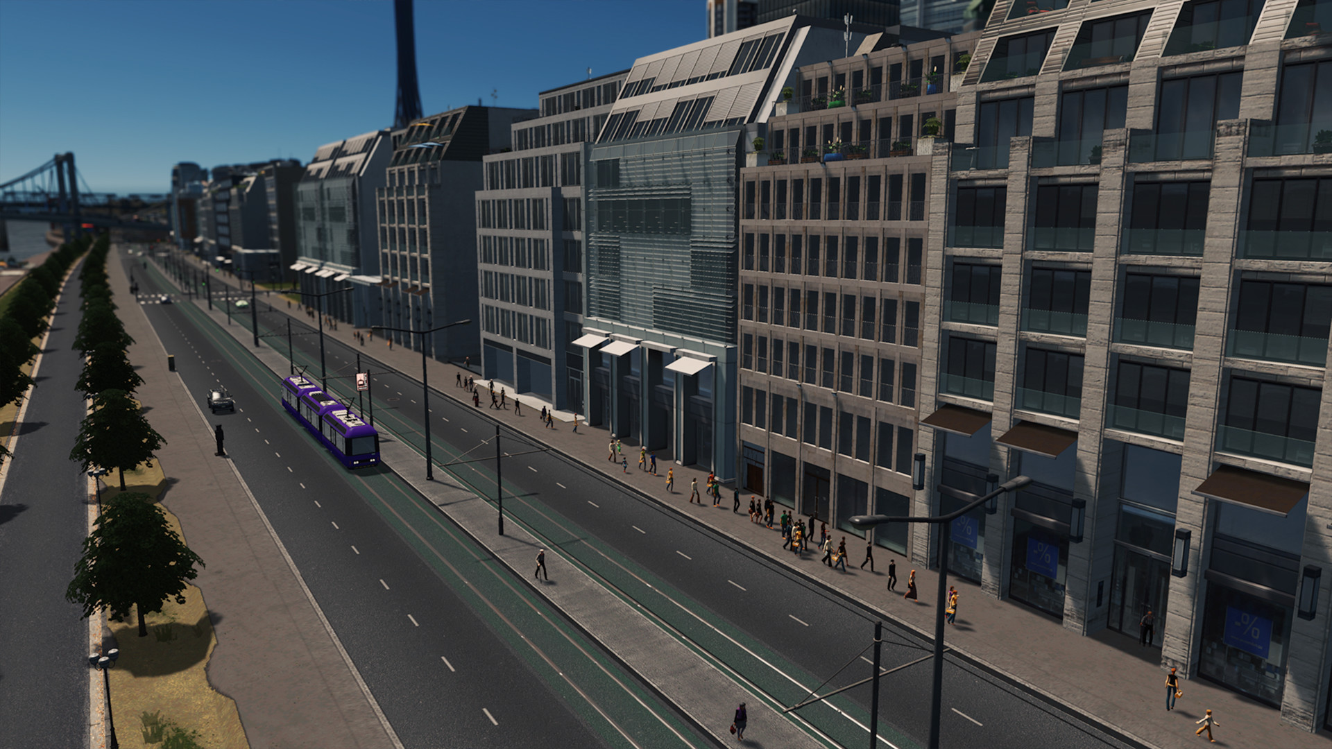 Cities: Skylines - Modern City Center Screenshot 1