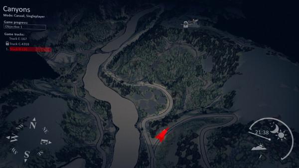 Скриншот №3 к Spintires® - Canyons DLC