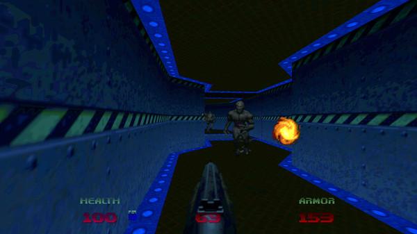 Capture d'écran n°1 du Jeu DOOM 64