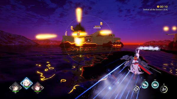 Capture d'écran n°2 du Jeu Azur Lane Crosswave