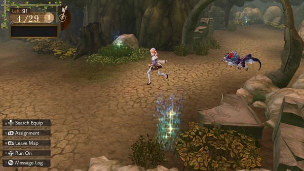 Capture d'écran n°4 du Jeu Atelier Escha and Logy: Alchemists of the Dusk Sky DX