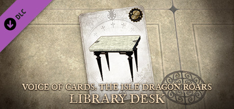 Voice of Cards: The Isle Dragon Roars Library Desk