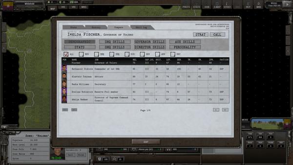 Screenshot of Shadow Empire