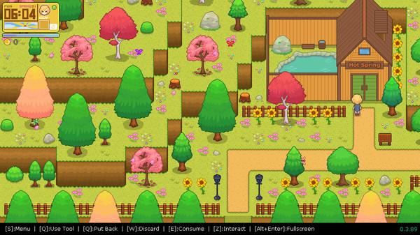 Screenshot of Peaceful Days