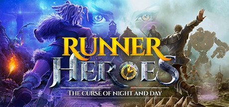 RUNNER HEROES: The curse of night and day Capa