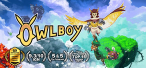 Owlboy cover art