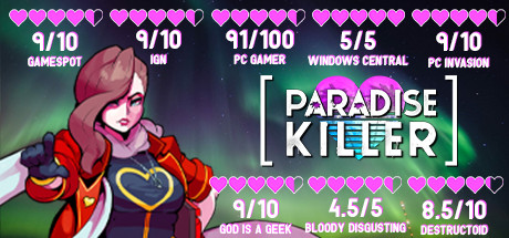 Paradise Killer technical specifications for PC