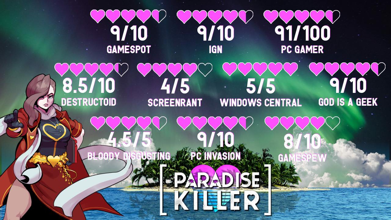 Find the best laptop for Paradise Killer
