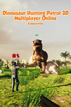 Dinosaur Hunting Patrol 3D Multiplayer Online poster image on Steam Backlog