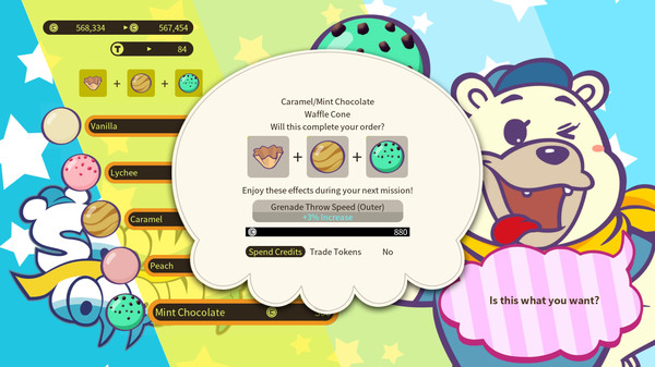Screenshot of DAEMON X MACHINA