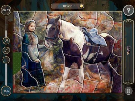 Скриншот из Fairytale Mosaics Beauty and Beast