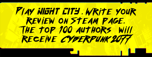 Cyberpunk game: Night City