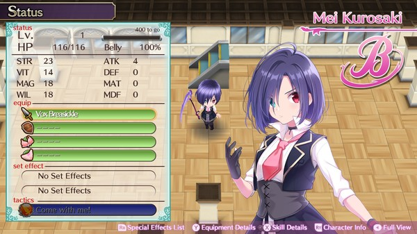 скриншот Omega Labyrinth Life - Vox Breasickle 0