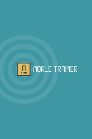 MOR...E TRAINER (learning Morse code) poster image on Steam Backlog