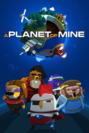 A Planet of Mine poster image on Steam Backlog