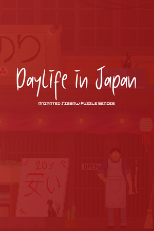 Daylife in Japan - Pixel Art Jigsaw Puzzle poster image on Steam Backlog
