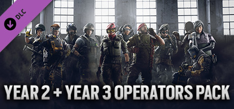 Rainbow Six Siege - Y1 + Y2 operators Uplay Activation