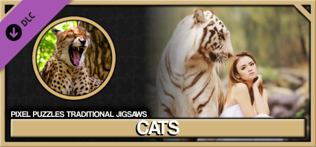 Pixel Puzzles Traditional Jigsaws Pack: Cats