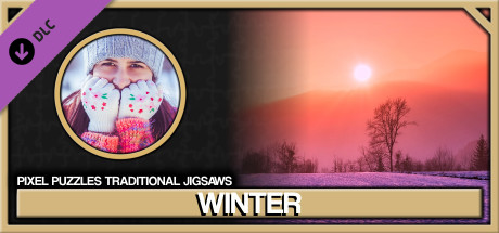 Pixel Puzzles Traditional Jigsaws Pack: Winter