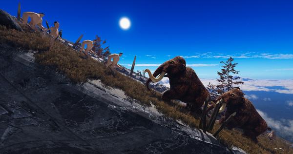 Capture d'écran n°1 du Jeu Evolution Battle Simulator: Prehistoric Times
