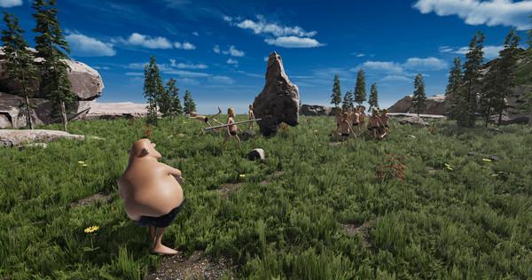 Capture d'écran n°2 du Jeu Evolution Battle Simulator: Prehistoric Times