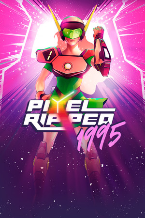 Pixel Ripped 1995 poster image on Steam Backlog