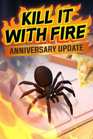 Kill It With Fire poster image on Steam Backlog