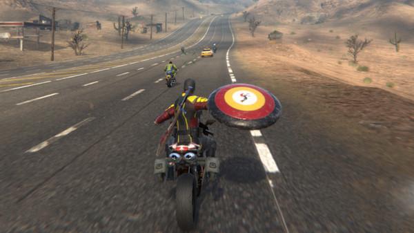 Capture d'écran n°5 du Jeu Road Redemption - Revengers Assemble