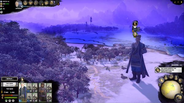 скриншот Total War: THREE KINGDOMS - Tao Qian 3