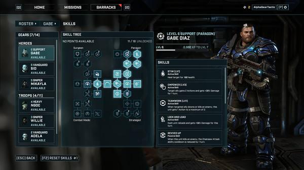 скриншот Gears Tactics 2