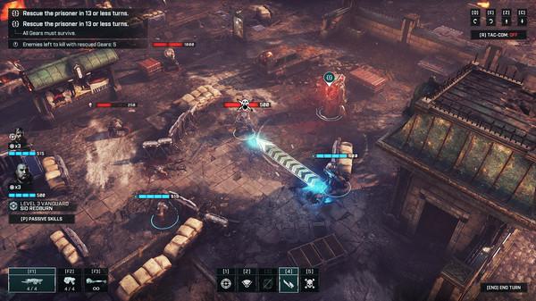 скриншот Gears Tactics 5
