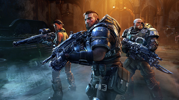 скриншот Gears Tactics 0