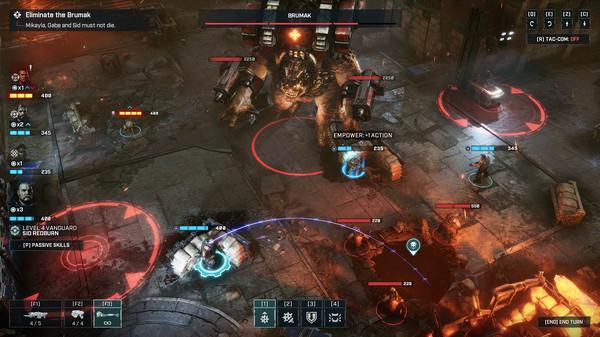 скриншот Gears Tactics 3