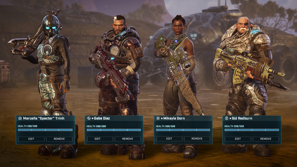 скриншот Gears Tactics 1