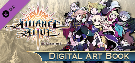 The Alliance Alive HD Remastered - Digital Art Book
