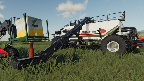 Скриншот из Farming Simulator 19 - Bourgault DLC
