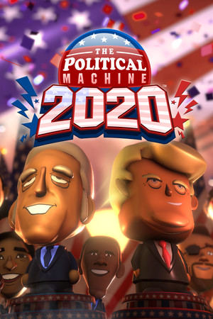 The Political Machine 2020 poster image on Steam Backlog