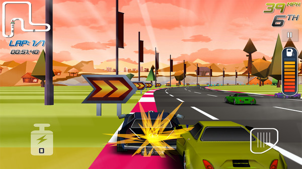 Race Race Racer Screenshot