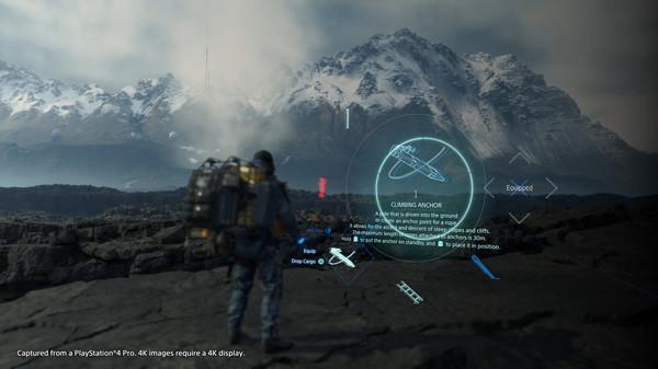 скриншот Death Stranding 2