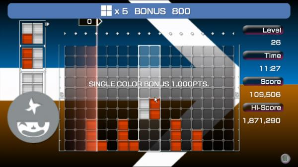 Скриншот из Lumines: Advanced Pack