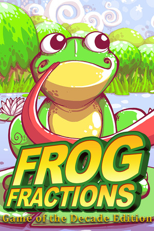 Frog Fractions: Game of the Decade Edition poster image on Steam Backlog