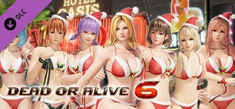 Купить DOA6 Santa Bikini Set (DLC)