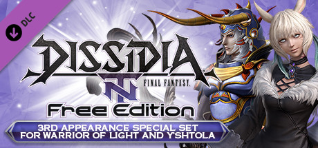 DFF NT: 3rd Appearance Special Set for Warrior of Light and Y'shtola